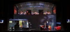 The Rake's Progress from Berliner Staatsoper. Production by Krzysztof Warlikowski. Sets and costumes by Małgorzata Szczęśniak.