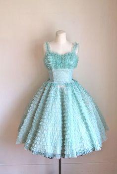 vintage 1950s prom dress MINT by MsTips
