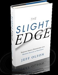 The Slight Edge is NOT a self-help gimmick or motivational tool. It simply shows you how to create powerful results from the simple daily activities of your life, by using tools that are already within you. Once you've got it, then you will discover how your philosophy…creates your attitude…creates your actions…creates your results…creates YOUR LIFE! And your life will never be the same again. The Slight Edge, Motivational Books, Need Motivation, Used Tools, Daily Activities, Self Help, Philosophy, Attitude, Create Yourself