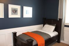 """Benjamin Moore """"Newburyport Blue"""" - I may need to use this color in my house simply because of its name."""