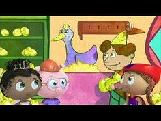 Super WHY! s02e01 The Goose and the Golden Eggs SD DVD