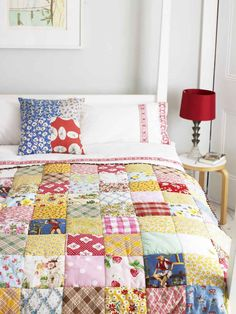 b.e.a.u.t.i.f.u.l .... and this year, I will make my own quilt. Tutorial in MollieMakes