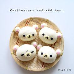 Korilakkumar steamed buns by yuka (@hgsy430)