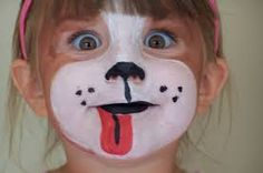 Image result for face painting simple princess