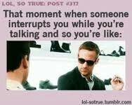Interruption meme