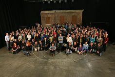 Here it is! the Official #Supernatural Season 10 cast and crew photo!  #