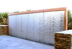 Water Wall 1/2 this size and INSIDE the house so I can hear it