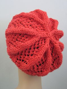 Balls to the Walls Knits: Fan Lace Hat