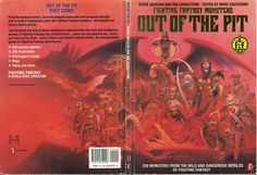 Out of the Pit - a guide to the monsters of Fighting Fantasy.