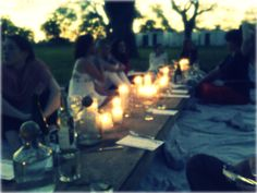 Summer dining.  #TheShirtCompany