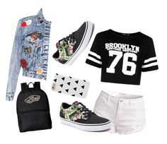 """Untitled #59"" by guadamansilla on Polyvore featuring Boohoo, Vans and Alice + Olivia"