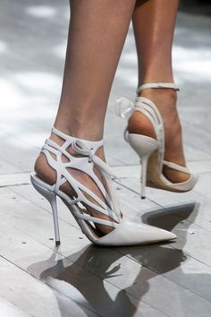 pinterest.com/fra411 #shoes #heels Christian Dior Spring 2014