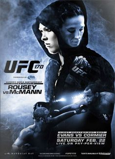 UFC 170: Rousey vs. McMann Fightcard