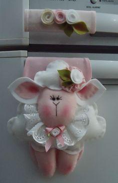 Liz Artesanatos: ovelhinha