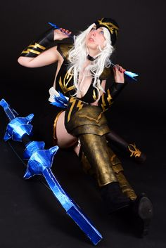 #cosplay #leagueoflegends Ashe from league of legends