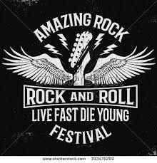 Resultado de imagem para rock n roll poster