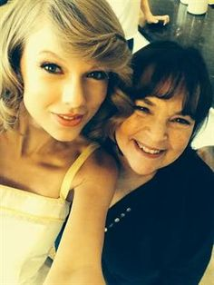 Learn How to Become BFF's With Taylor Swift Like Ina Garten!  www.theoliveeye.com/blog/get-like-ina-garten