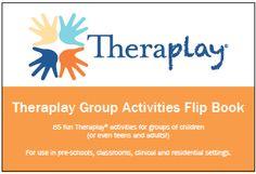 Theraplay Group Activities Flip Book