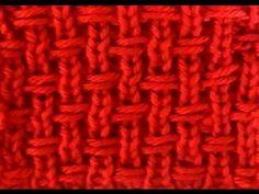 Como Tejer Punto Cruzado Original 2 Agujas (210) Knitting Stiches, Knitting Videos, Crochet Videos, Lace Knitting, Crochet Stitches, Knit Crochet, Afghan Crochet Patterns, Knitting Patterns Free, Stitch Patterns