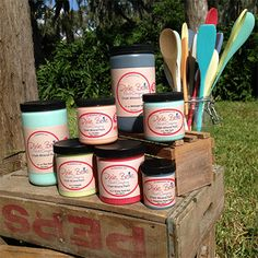 """Dixie Belle Paint Company: Chalk Paint Colors (going to redo wood """"dark"""" in kitchen with the Dixie Belle Drop Cloth *love. Chalk Paint Projects, Chalk Paint Furniture, Refinished Furniture, Diy Projects, Painting Tips, Painting On Wood, Painting Techniques, Chalk Paint Colors, Dixie Belle Paint"""