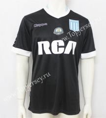 2017-18 Racing Club de Avellaneda Away Black Thailand Soccer Jersey