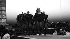 Beyonce performing her opening number at the Formation World Tour