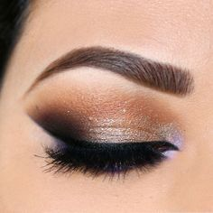 I'm wearing @motivescosmetics eyebase first to prime my lids also as my eyeshadow base. On my browbone I religiously apply my fav eyeshadow Vanilla. Next I applied Cappuccino, Latte, Hazelnut (this sounds yummy right now lol) I also applied Sequins for that added sparkle (quick tip: when applying this eyeshadow either use ur fingers or a damp brush to avoid allot of fallouts). I have Vino in my crease and Fantasy on my bottom lashline. Since I have brown eyes I use purple eyeshadows or ...
