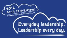 Will you be attending the ASHA Convention this year? If so, join UMD's HESP department at the convention on Friday, November 18th, 2016 in Philadelphia for an Alumni Open House. This year, the University of Maryland, along with Howard, Loyola, Towson, and the University of the District of Columbia (UDC) are sponsoring a collaborative Greater Baltimore and Washington, DC Open House. ]RSVP by Friday, November 1 at: http://alumni.umd.edu/events/2016/11/2016-asha-convention-alumni-open-house