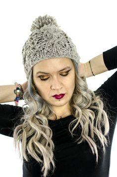 Knitting Hat by mariposaromania on Etsy