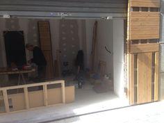 Empezando la obra de un nuevo proyecto en Lloret de Mar. Pirretas Interiorismo.