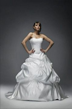Robe Bustier Ysa Mariage T.44 d'occasion