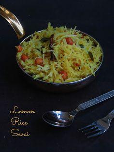 Lemon Rice Sevai/Vegan Lemon Sevai/Lemon Idiyappam