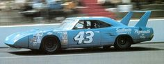 The Storied Career of Richard Petty--Petty drove the popular Superbird, winning 8 races at 5 different tracks (1970).