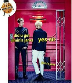 At least we know where Jimin's Jams went!!!