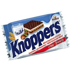 I love my knoppers!