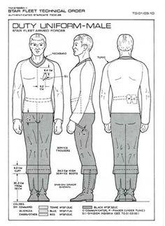 Duty Uniform - Male: Star Fleet Armed Forces