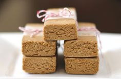 Peanut Butter Fudge Protein Bars:  [no bake, sugar free, high protein, GF, vegan]