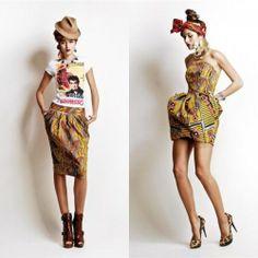 Stella Jean Italy - Fashionable Haiti line, F/W 2012