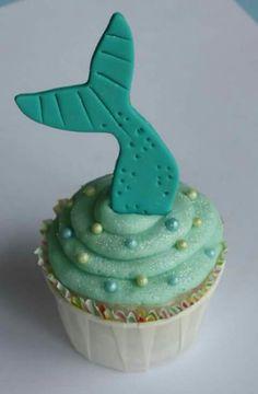 Fin cupcakes
