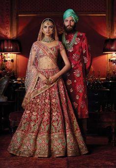 Be the Princess in your Wedding with Sabyasachi Bridal Lehenga! - MetroMela