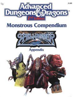 AD&D: MC7 Monstrous Compendium, Spelljammer Appendix ~ TSR (1990)