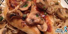 Chicken Piccata with Pasta - WineParrot.com