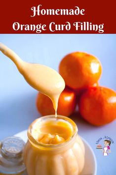 No-Fail Orange Curd Recipe - When oranges are in season you must make homemade orange curd. This simple, easy and effortless recipe for no-fail orange curd is the best you will ever taste. Sweet, tangy with a melt in the mouth luxurious texture. Citrus Recipes, Orange Recipes, Jam Recipes, Sweet Recipes, Dessert Recipes, Cooking Recipes, Lemon Curd Recipe, Sauces, Cake Fillings