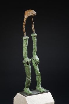 Marlene Steyn, 'All she wanted to be was a flying buttress' Patinated bronze, 40 x 14 x Edition of 10 Flying Buttress, Bronze, Sculpture, Sculptures, Sculpting, Statue, Carving