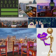 """flrs with 180 degree view toward Sukhumvit and birds eye view onto Bkk best Nightlife Soi . The views fomr the toilets are """"must do"""" lol Above Eleven - Bangkok SM Hub Rooftops, Rooftop Bar, Birds Eye View, Toilets, Bangkok Thailand, Nightlife, Restaurant Bar, Tourism, Lol"""