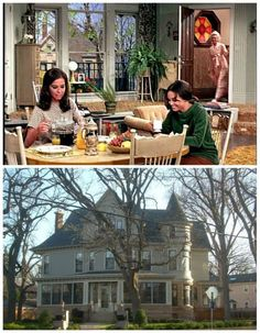 "Fans suggest that Rhoda lived in the top of the home's ""tower""."