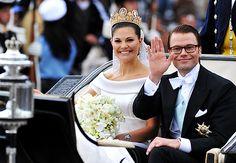 Prince Daniel and Crown Princess Victoria of Sweden
