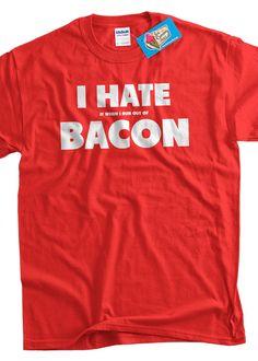 Making Makin BBQ Pig Make Bacon Not War Peace Love grill smoker funny T Shirt
