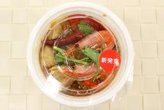 「トム!ヤム!クン!(春雨入り)」 価格は350円(税込)。ちなみに、1食で193kcal