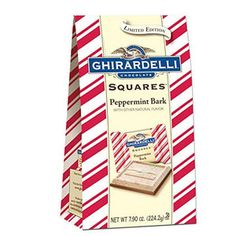 Ghirardelli Limited Edition Peppermint Bark with Dark Chocolate Squares Bag : Target Ghirardelli Chocolate Squares, Chocolate Peppermint Bark, White Chocolate Candy, Chocolate Shop, Cheap Stocking Stuffers, Holiday Candy, Holiday Decor, Gourmet Gifts